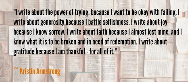 grattitude kristin armstrong
