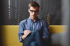 entrepreneur writing