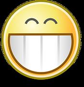 grin face