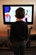 kid watch tv