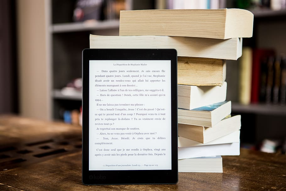 ebook and paper book